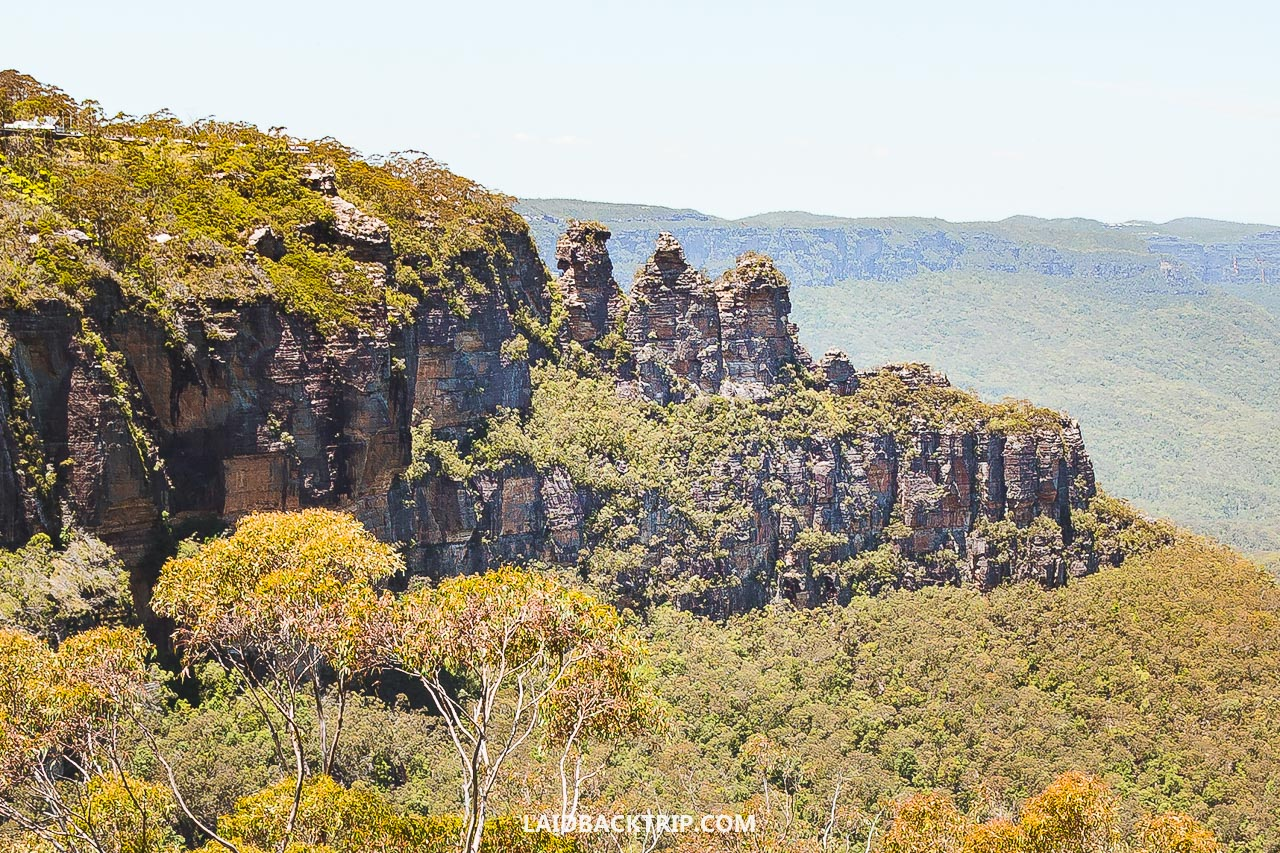 Here's the visitor's guide on the Blue Mountains near Sydney, Australia.