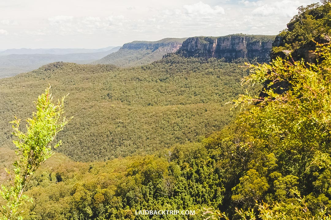 The Blue Mountains are the top attraction in Sydney, Australia.