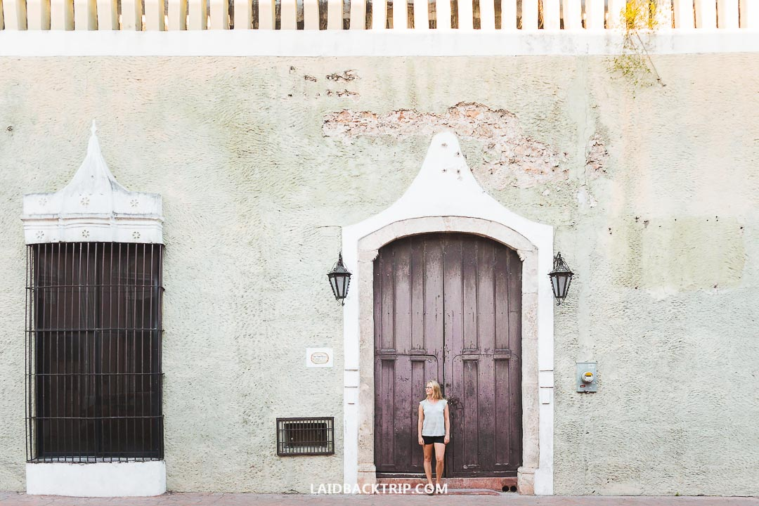 You can visit either Valladolid or Campeche on a day trip from Merida.