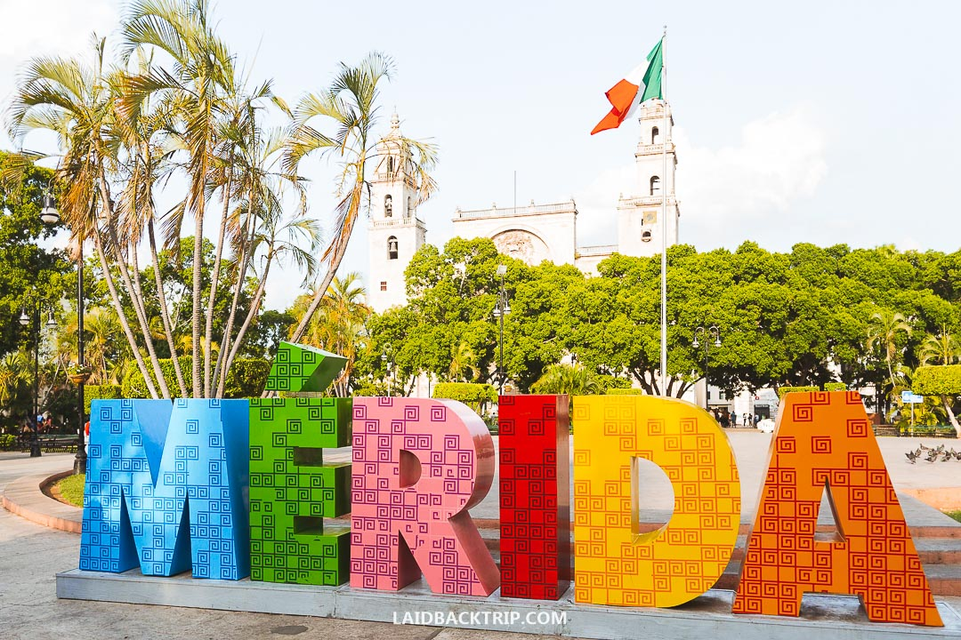 The main square in Merida is simply called Plaza Grande.