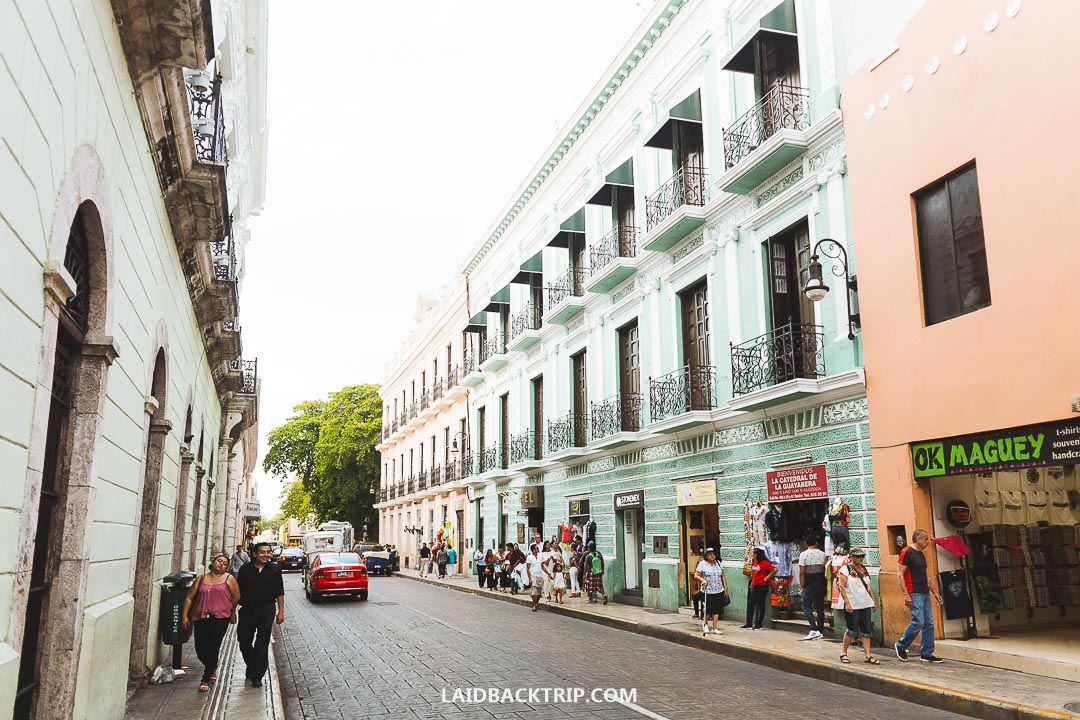 Merida is a colonial town worth visiting while in Mexico.