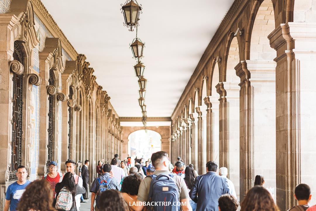 Mexico City is famous for pickpockets and a petty crime against tourists.