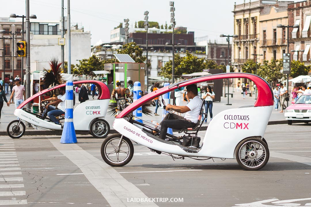 Getting around Mexico City is easy by metro.
