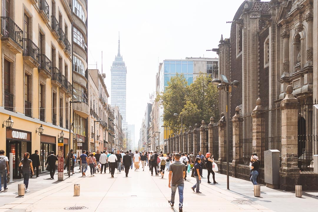 Mexico City is the capital of Mexico and your first on the itinerary.