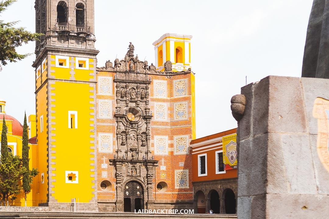 Puebla is a colonial city near Mexico City.