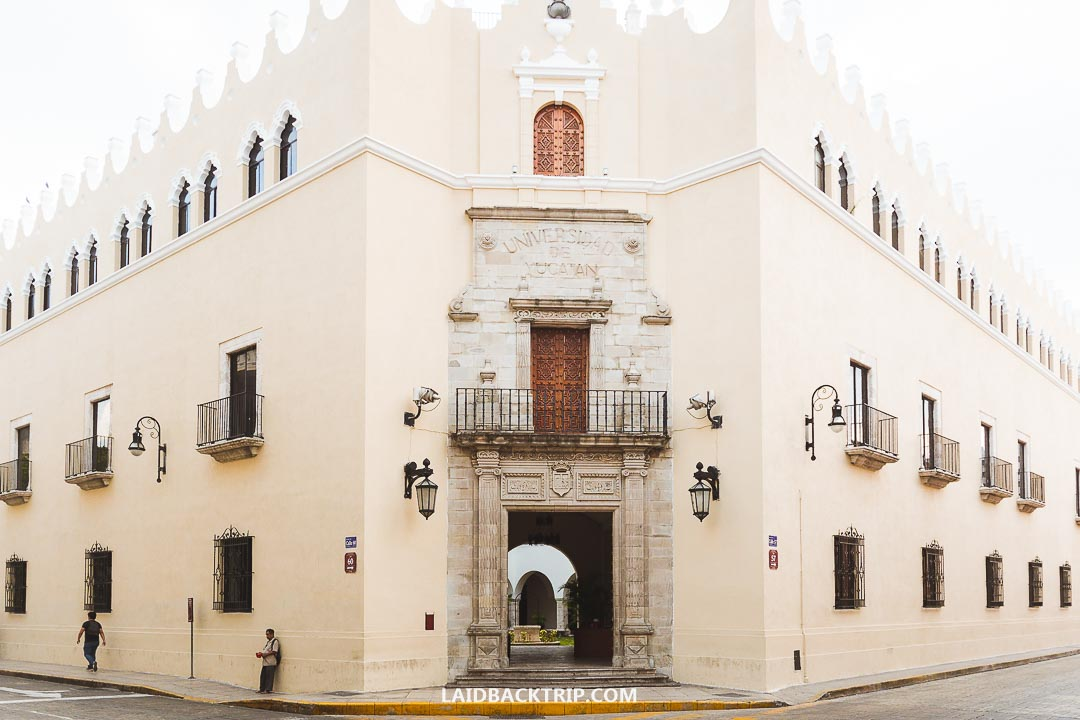 Merida is another beautiful city on our Mexico itinerary.