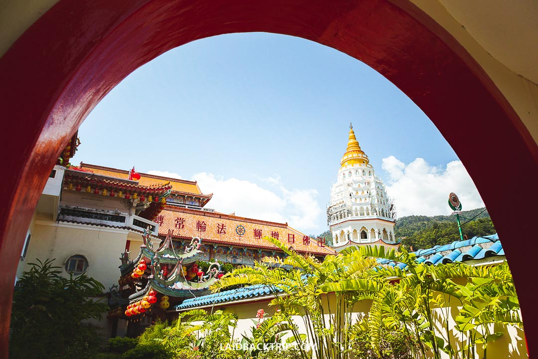 George Town is the largest city on Penang island in Malaysia.