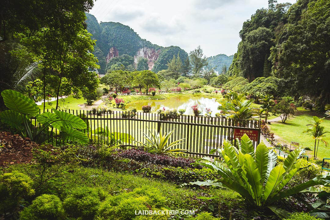 Ipoh is famous for its cave temples.