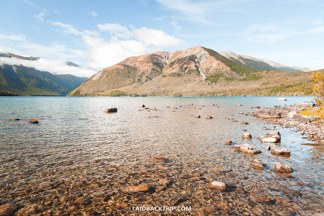 You can visit Nelson Lakes National Park on a day trip from Nelson.