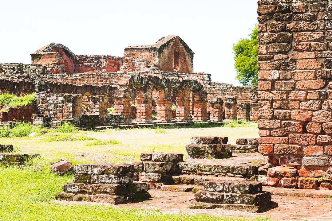 We visited Jesuit Missions Ruins in January, and it was incredibly hot.
