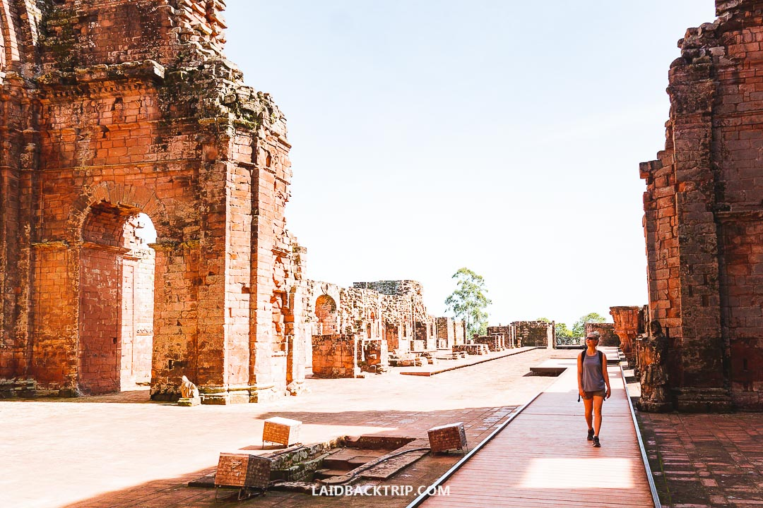 Jesuit Missions Ruins is a top attraction in Encarnacion, Paraguay.