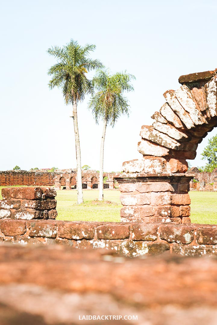 You can learn a lot from Jesuit Missions Ruins about Paraguay history.