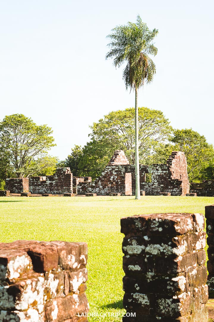 Jesuit Missions Ruins played an important part in Paraguay history.