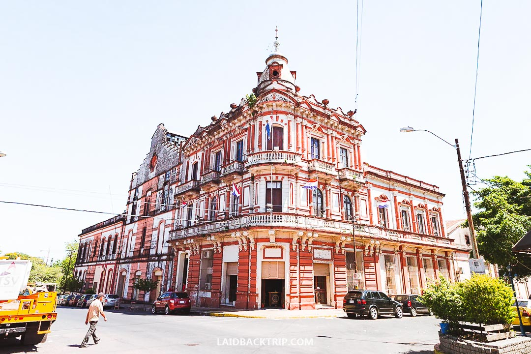 There are some nice hotels in the city center of Asuncion.