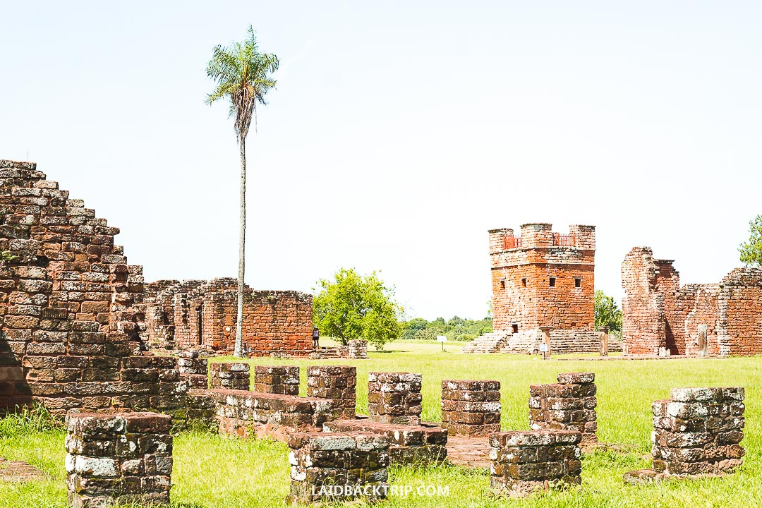 Encarnacion is a gateway to Jesuit Missions ruins near the city.