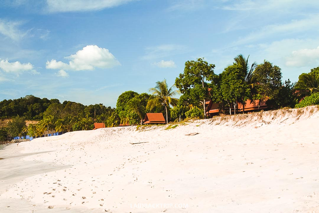 Langkawi is a big island, and you can stay in a budget bungalow or five-star hotel.