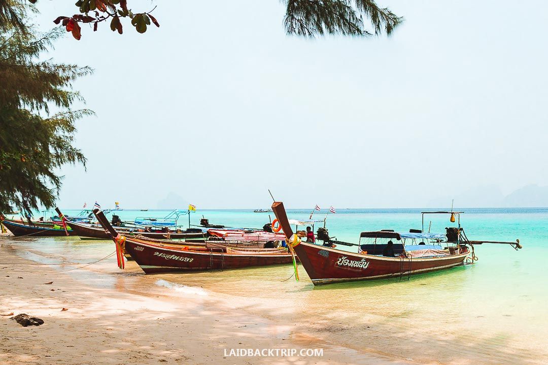 You can cross borders from Langkawi to Koh Lipe, Thailand.