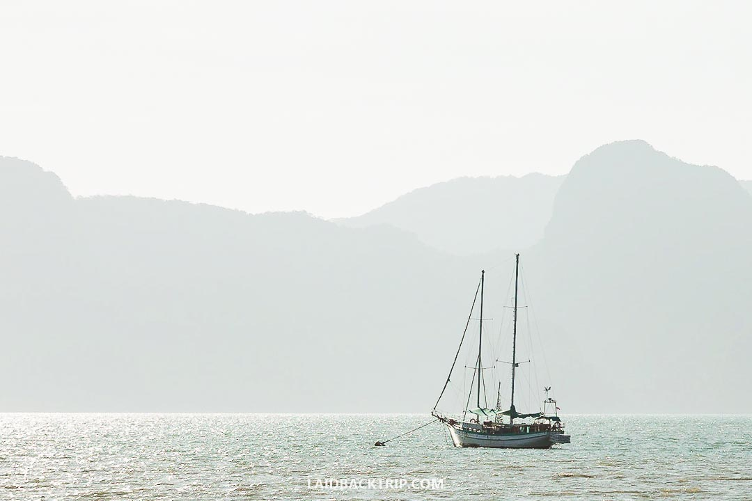 Sailing is a popular way to explore Langkawi and its surrounding islands.