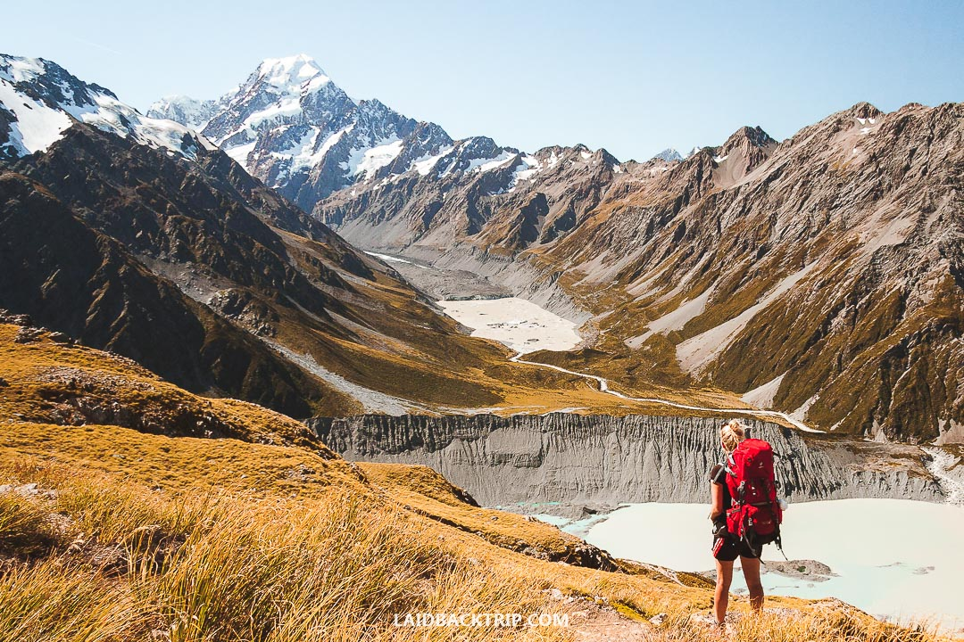 Here is the travel guide to Mueller Hut hike in Mount Cook National Park.
