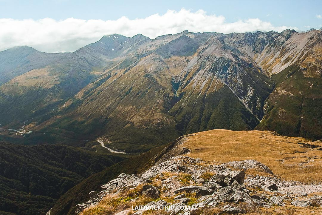 Avalanche Peak Track is one of the hardest hikes in New Zealand.