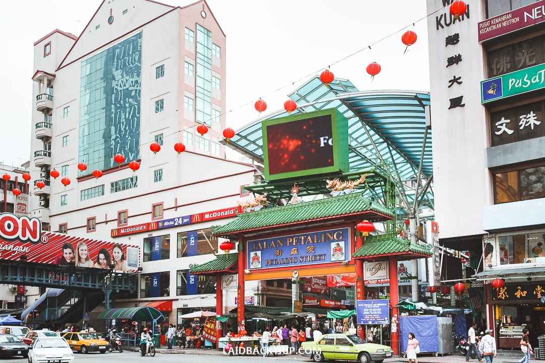 Petaling Street is famous among backpackers and budget travelers.