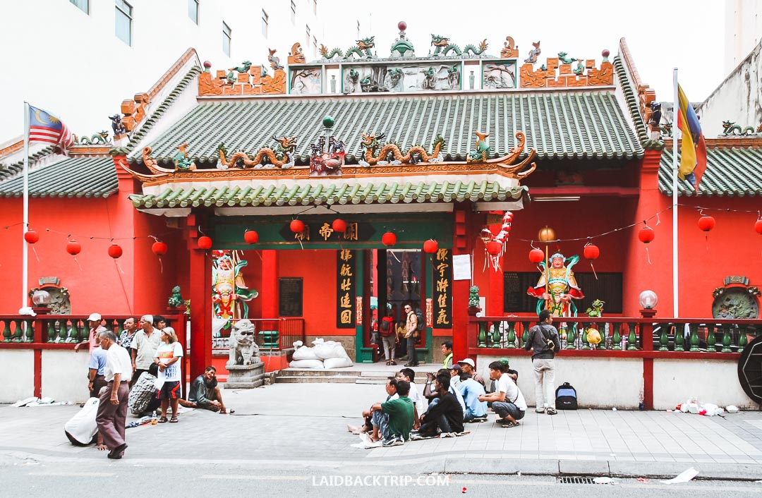 China Town and Little India are must-visit districts while exploring Kuala Lumpur.