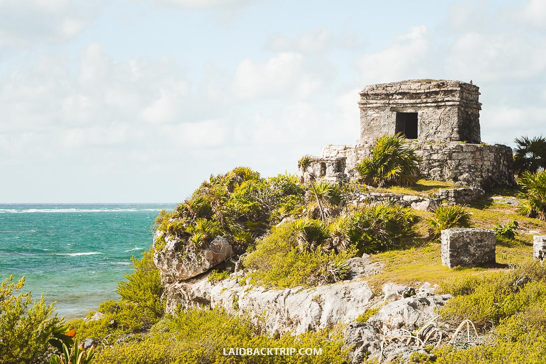 Tulum ruins are top attraction in Tulum.
