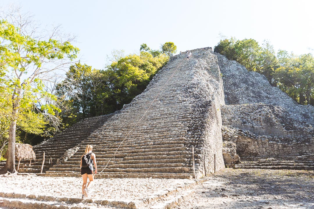 We visited famous Coba ruins from Tulum.