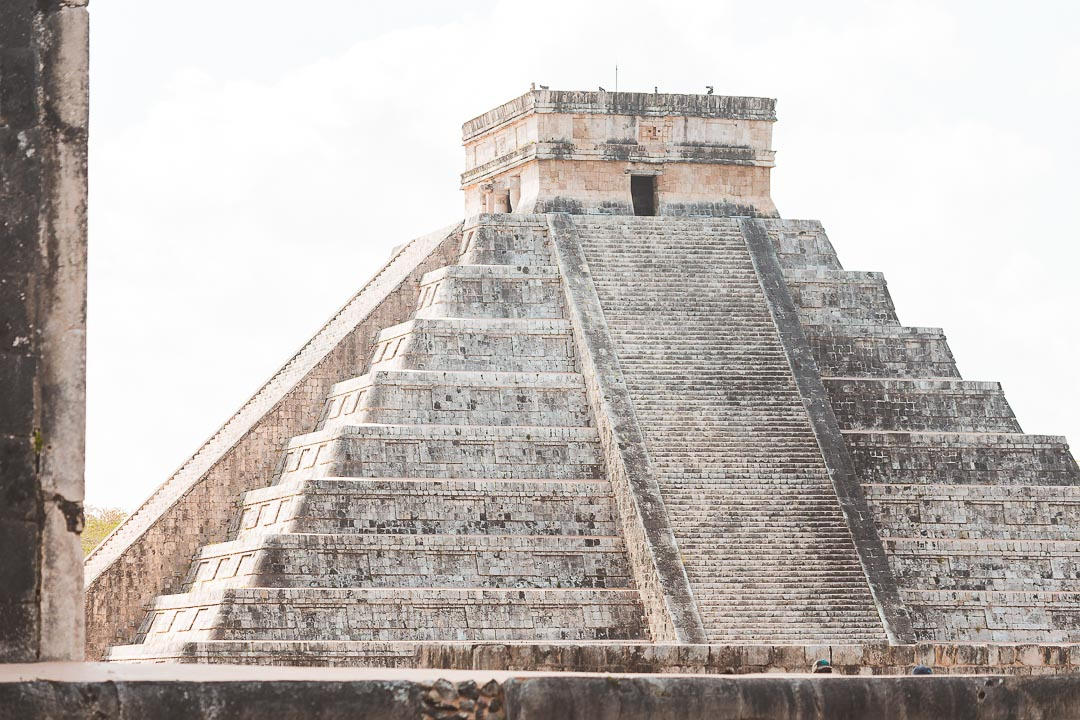 Chichen Itza is the best ruin you can visit from Tulum on a day trip.