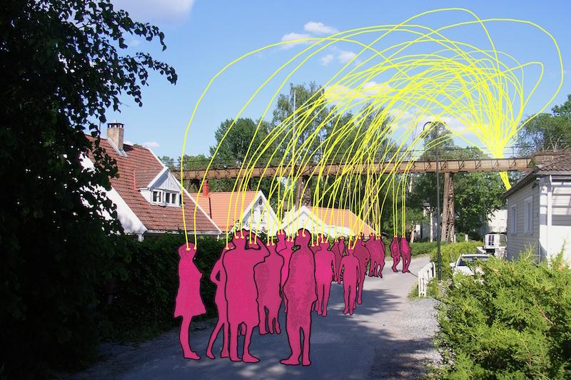 fredag 21. juni 19:00& 22:00 - Oppmøte: Skolehagen ved Hølen Kafé