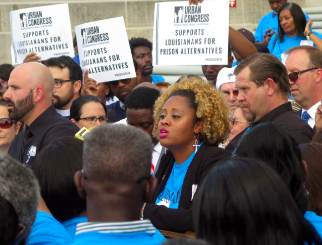 MAKE IT 'PERSONAL': GROUP RALLIES CROWD AT STATE CAPITAL IN FAVOR OF CRIMINAL JUSTICE REFORM -