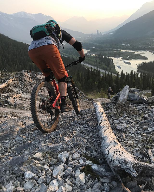 """Just riding along"" season is in full swing. We recommend scheduling your maintenance using our online scheduler but for those unforeseen mechanicals give us a shout. Don't worry, we've factored in some wiggle room in our schedule to keep you rolling. . . #jra #mechanicals #yycbike #moosemountain"
