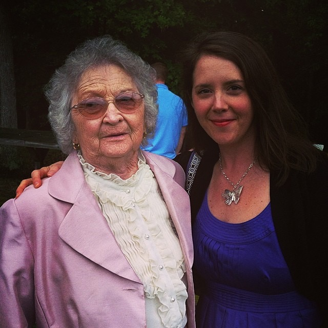 The last photo I got of Mama and me before she died. Mother's Day, 2012.