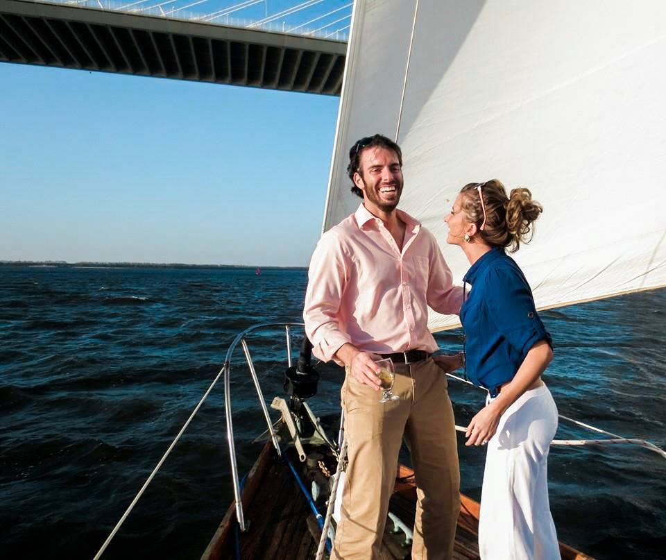 """Whether we're sailing in Charleston, staying up late and stuffing our faces in Rome or soaking up the culture in San Miguel de Allende... joy, freedom and adventure are at the top of our """"must have"""" lists in this life!"""