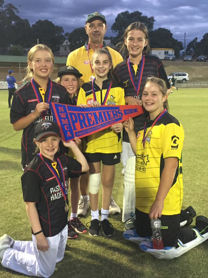 Under 13 Girls Grand Final Team