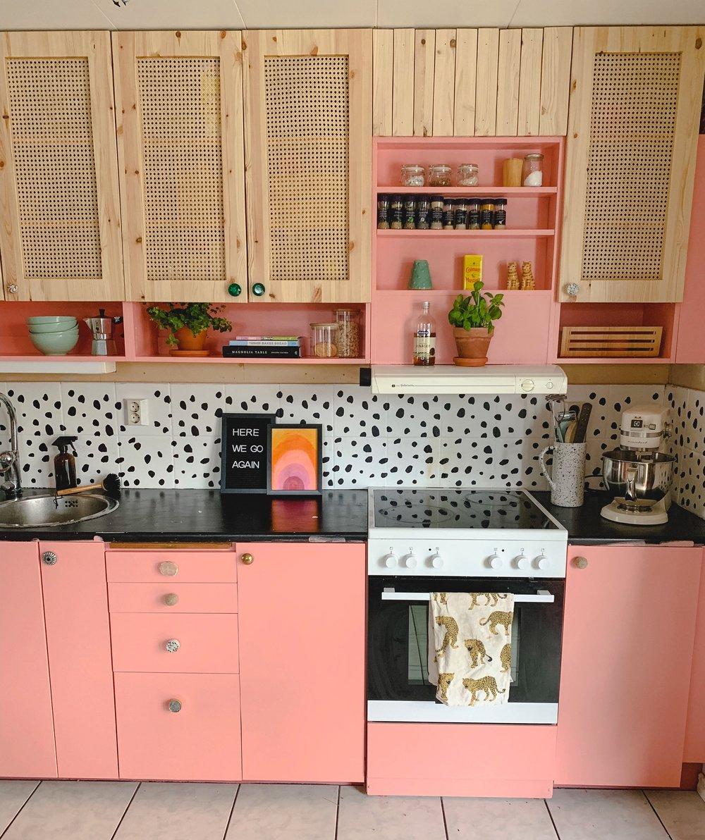 DIY+Rattan+Cabinet+Door