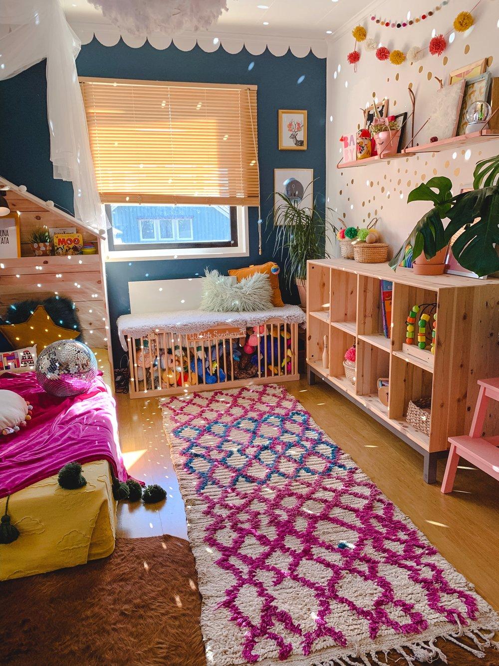 art moroccan rug kids room design
