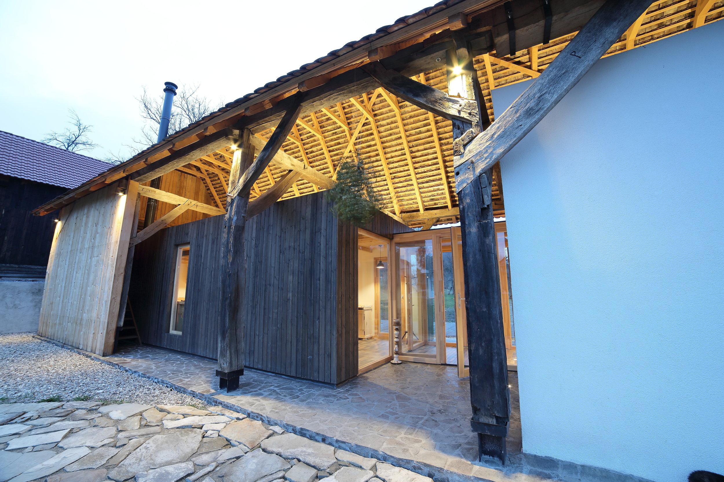 The magical barn -