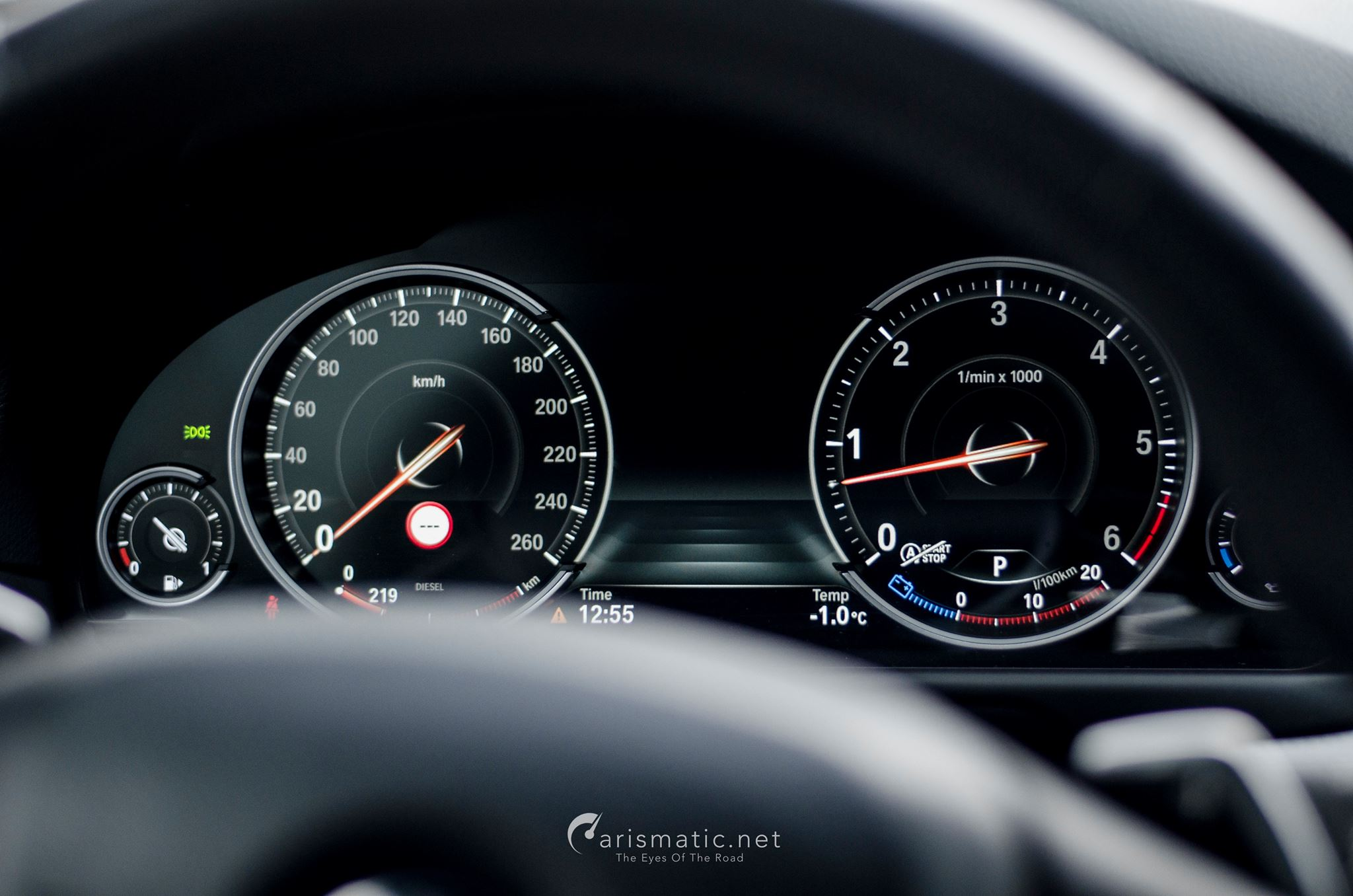 BMW M550d Tacho
