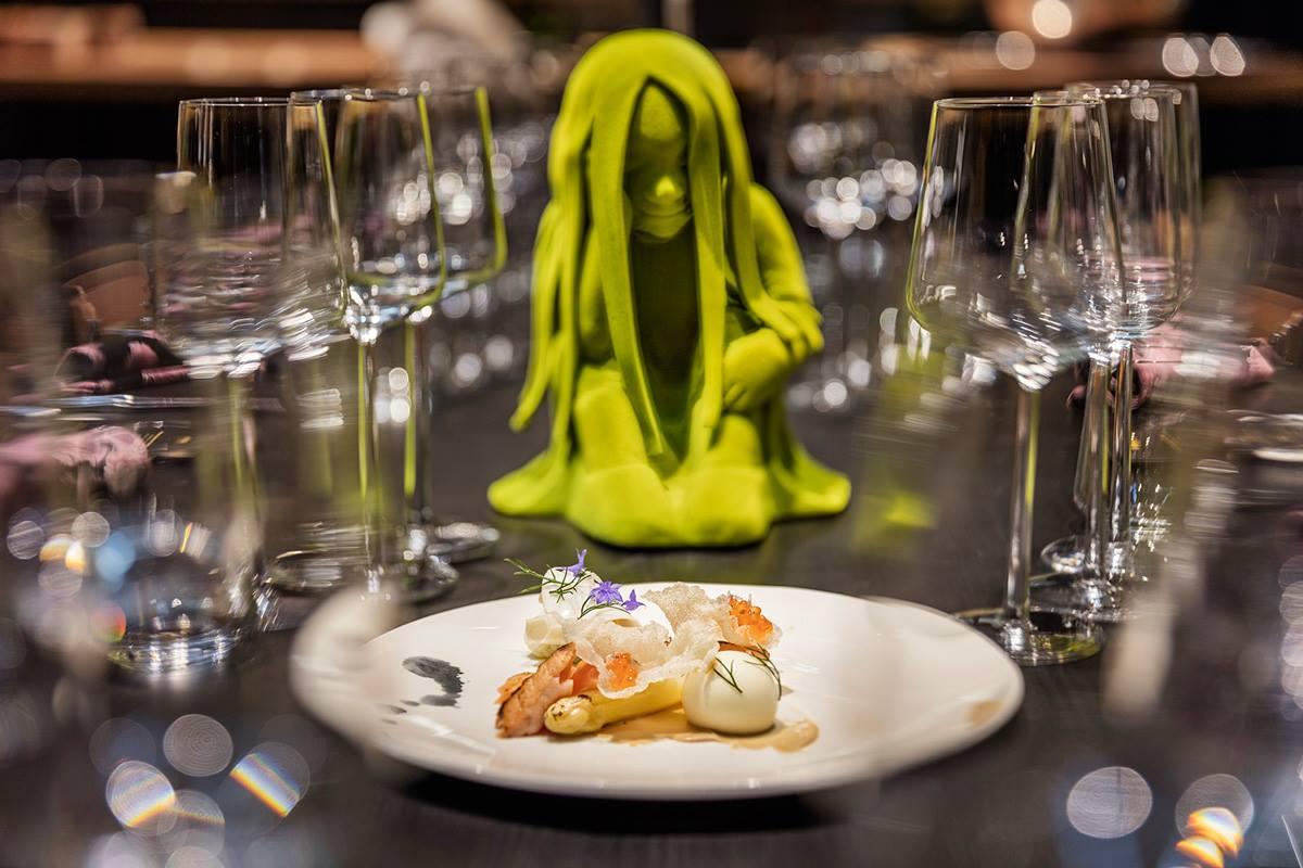 Supper fest 2016, Helsinki  Plates Mari Paikkari  Sculpture Kim Simonsson  Photo Timo Kauppila