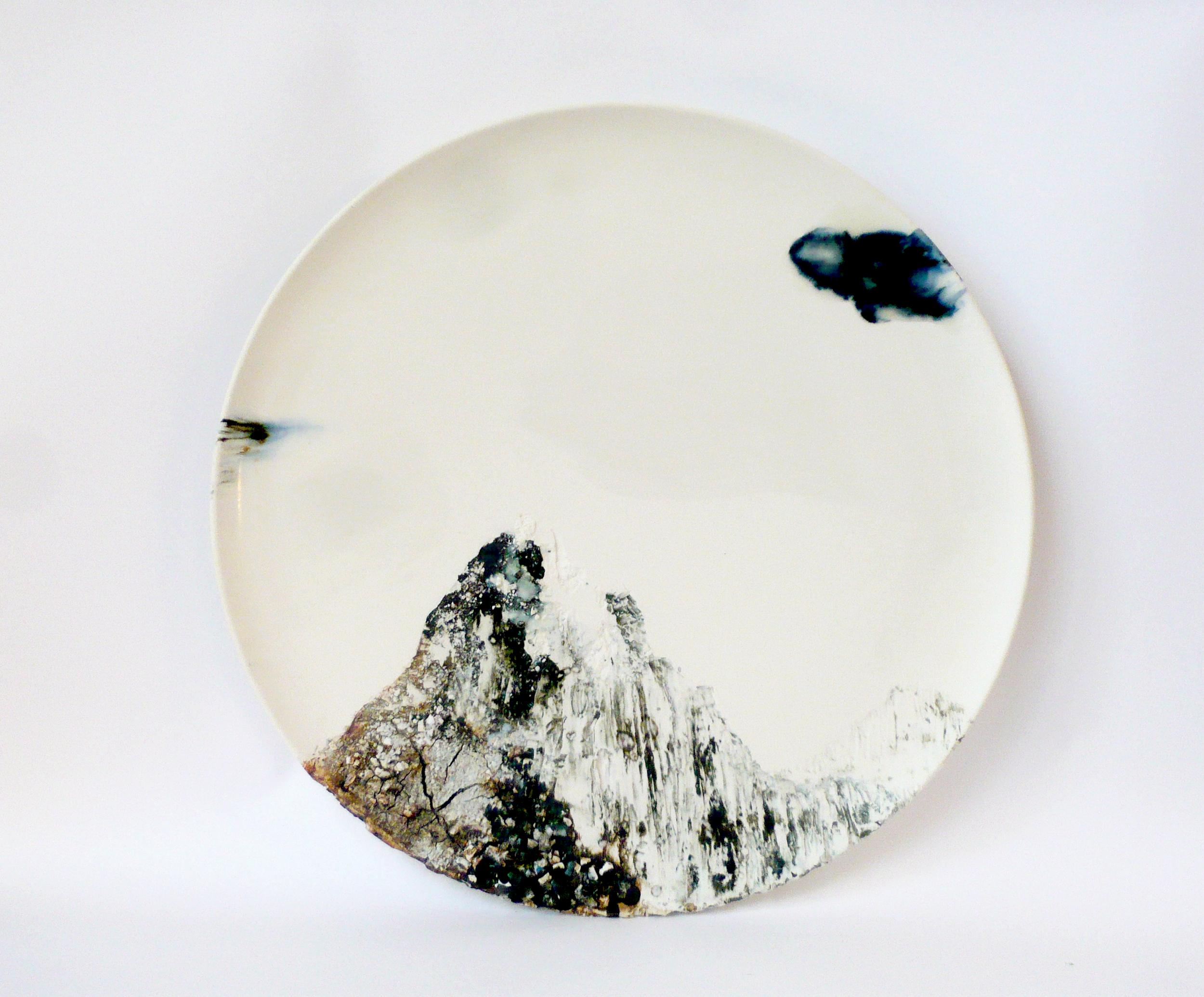 Avaruus/Space, 2018, 40cm x 40cm x 3cm