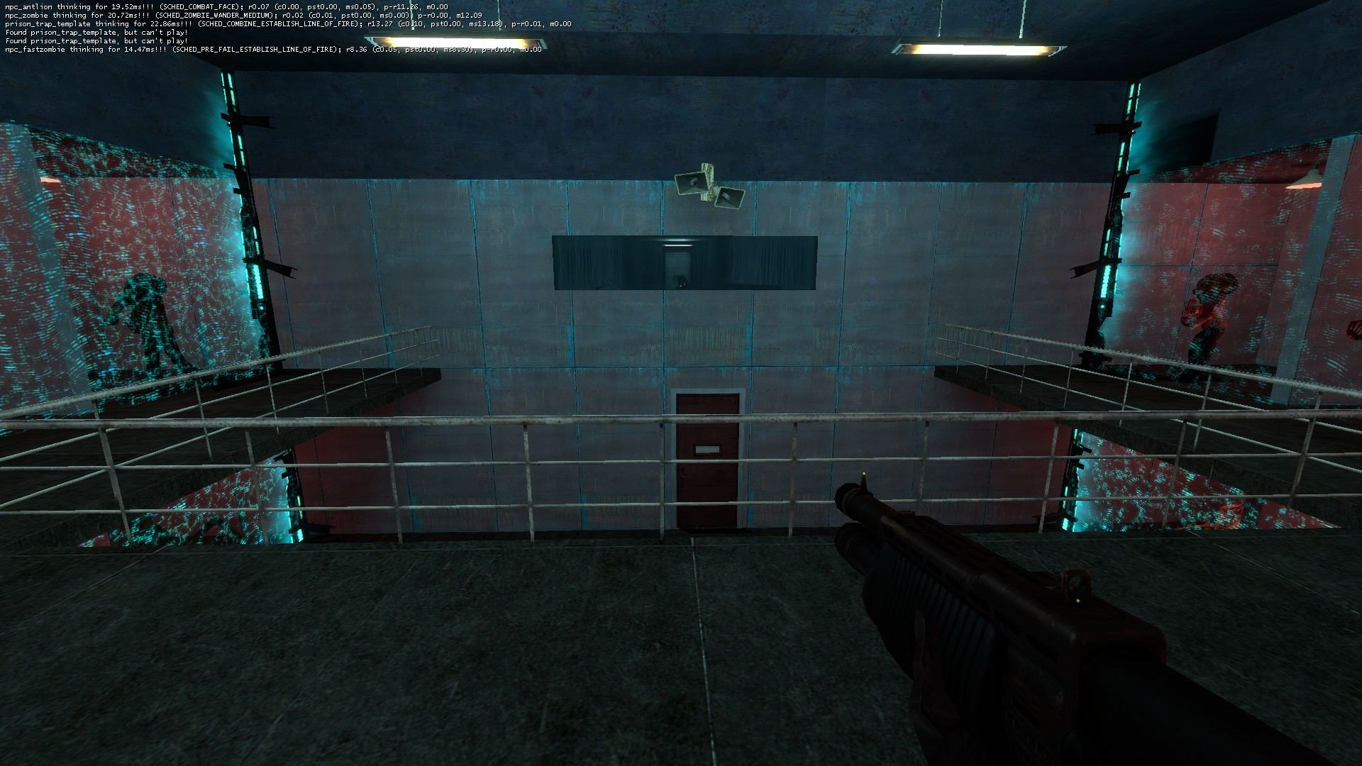 Combine Soldier locking the player in the prison