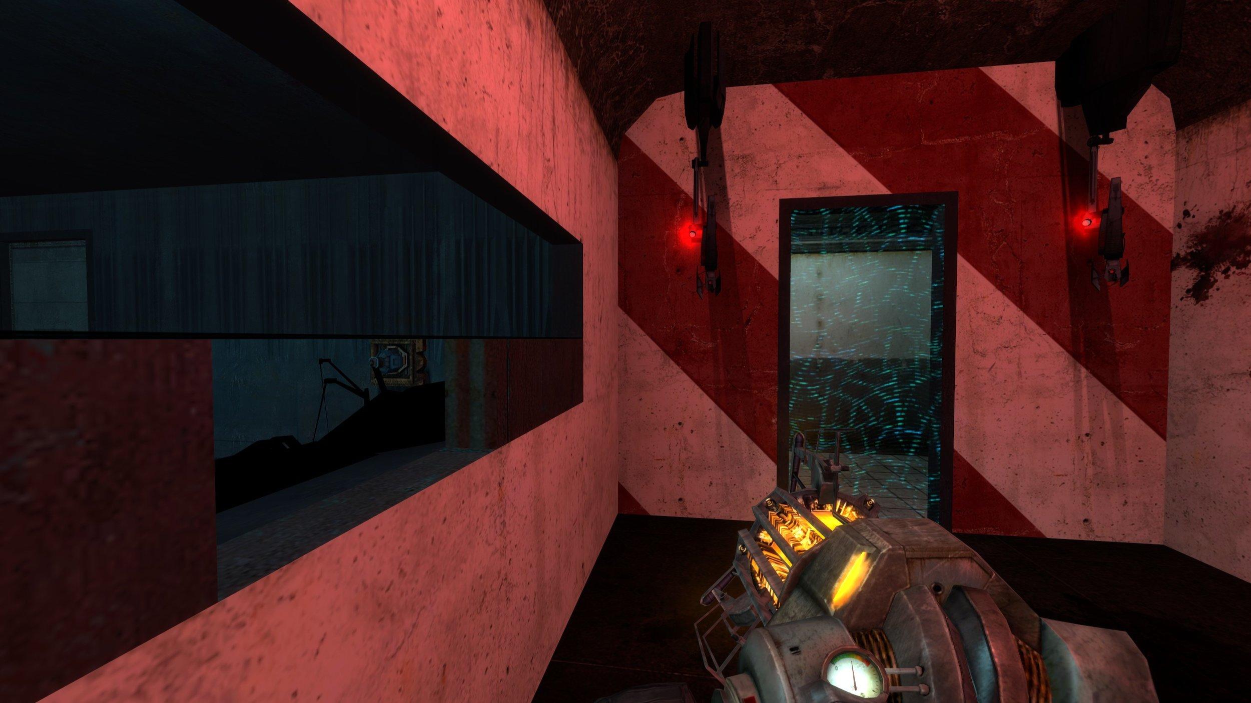 The turret trap room