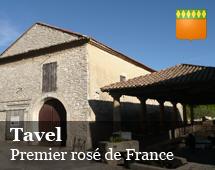 Tavel : primo vino rosato di Francia