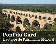Ponte acquedotto del Gard :alto luogo del patrimonio mondiale