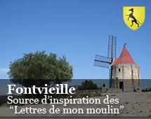 """Fontvieille : fonte d'ispirazione delle """"lettere del mio mulino"""""""