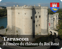 In the shade of the castle of King René