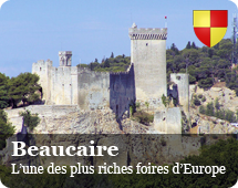 Beaucaire : one of the richest fairs in Europe
