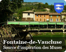 Fontaine de Vaucluse : source of inspiration of the Muses