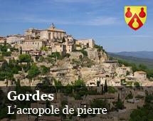 Gordes : the stony Acropolis